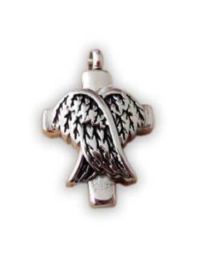 Colgante para cenizas alas de angel