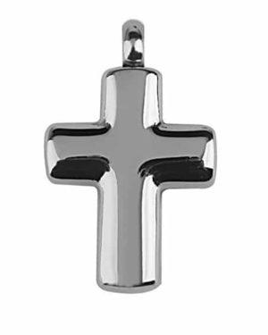 Colgante para cenizas con forma de cruz