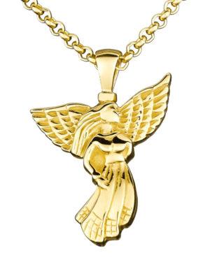 Colgante-cenizas-oro-angel-cadena