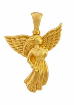 colgante-cenizas-angel-oro