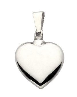 Colgante para cenizas Corazón de Plata 18x15mm P-1423