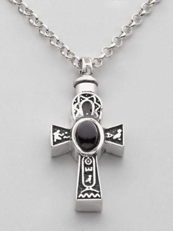 colgante-cenizas-cruz-plata-negra-cadena