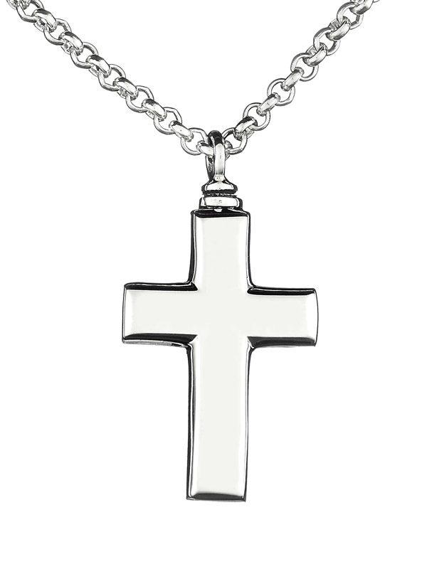 colgante-cenizas-plata-cruz-pequeña-cadena