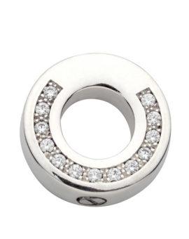 """Colgante para cenizas """"Ring con Piedras"""" diámetro 20 mm P-1486"""