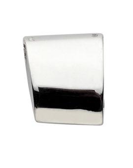 """Colgante plata """" Trapecio Liso Square""""  20×14 mm P-1517"""