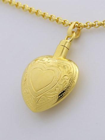 colgante-para-cenizas-corazon-oro-tallado