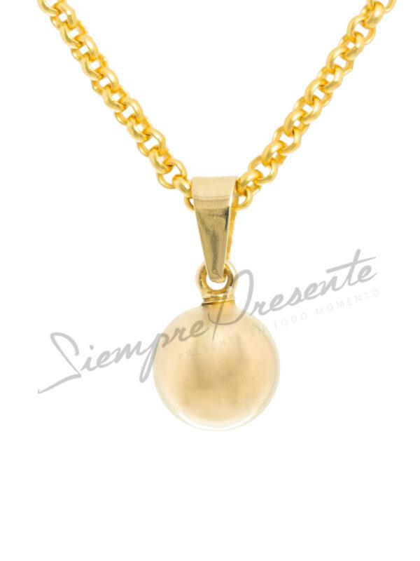 colgante-para-cenizas-esfera-de-oro