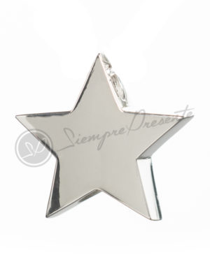 colgante-para-cenizas-estrella-5-puntas-plata