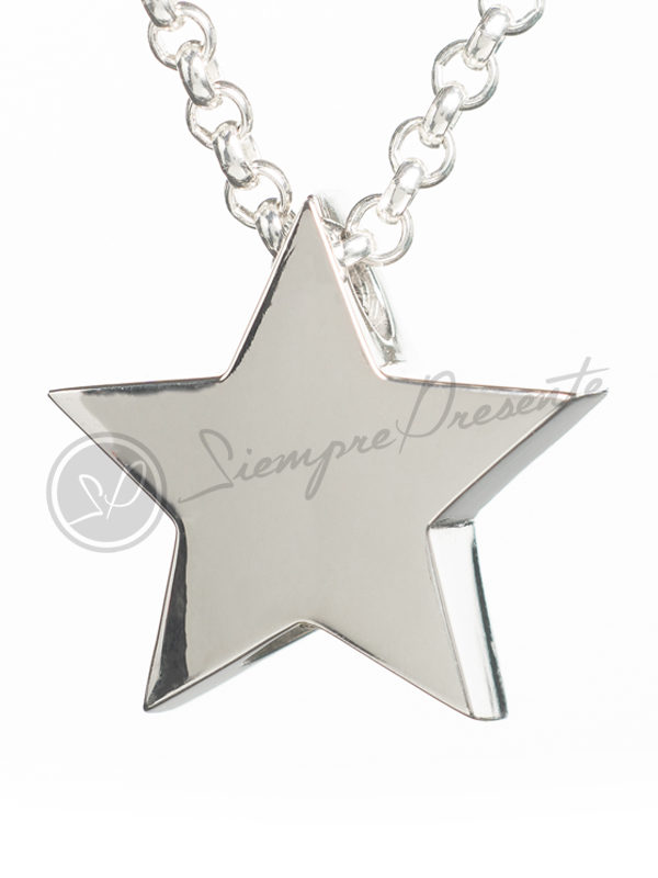 colgante-para-cenizas-estrella-5-puntas-plata-cadena