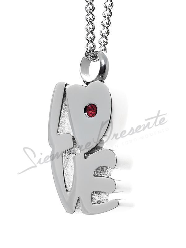 colgante-para-cenizas-love-rojo-acero-24x14