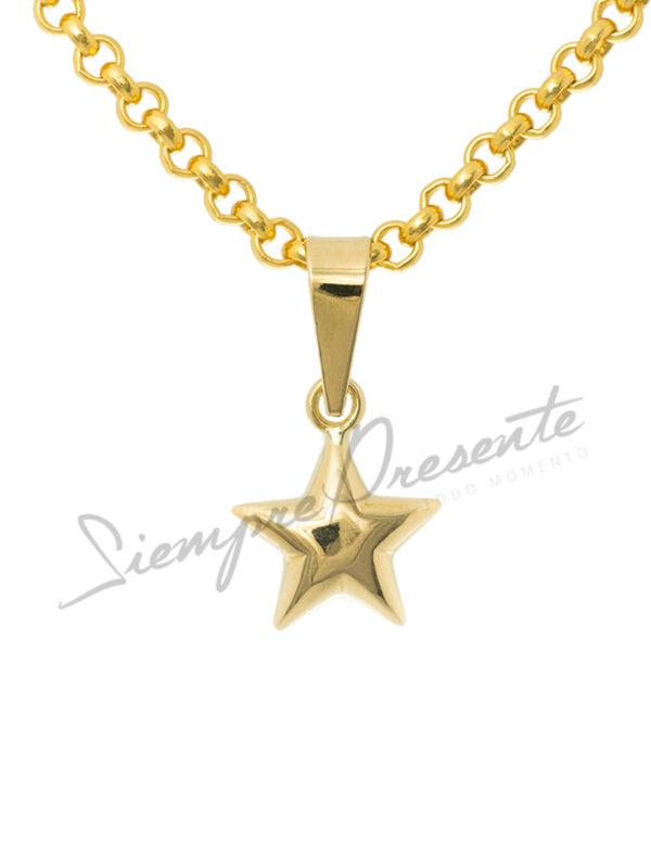 colgante-para-cenizas-oro-estrella